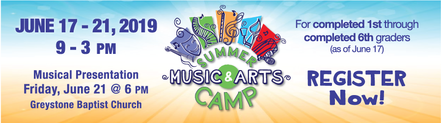 Summer Music & Arts Camp 2019